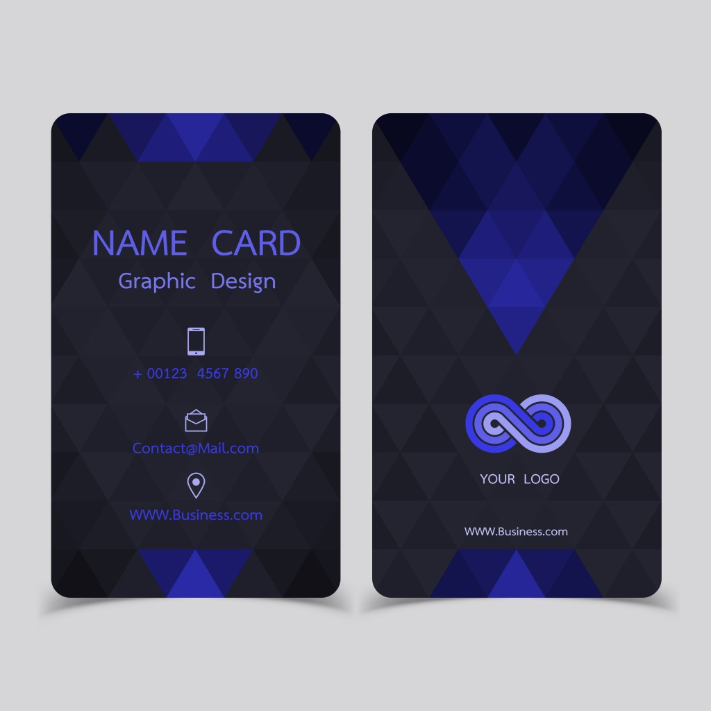 business card design set. Modern Creative Business Card Template Vector illustrations.